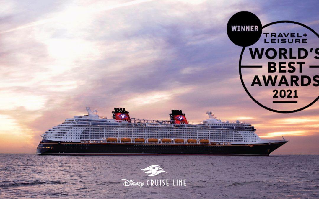Disney Cruise Line Awarded as World's Best