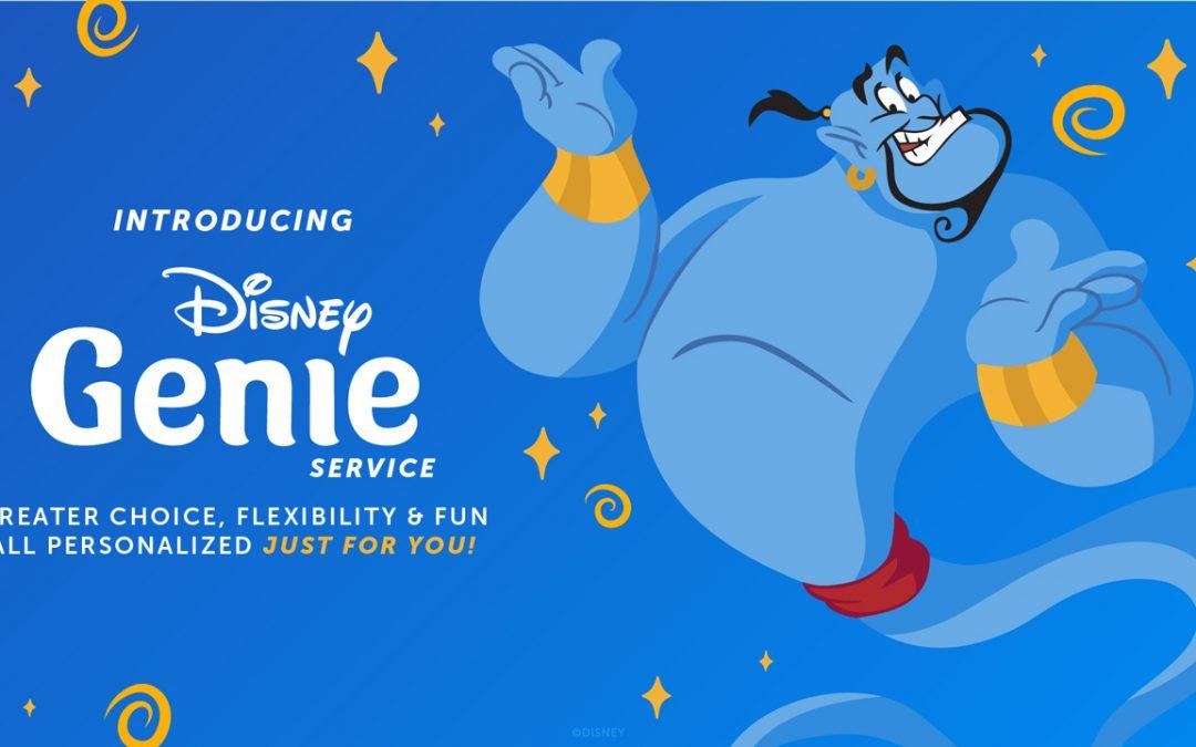Introducing the New Disney Genie Service