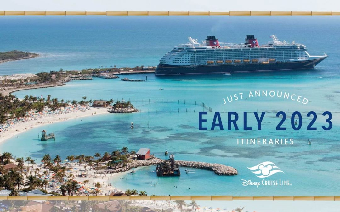 Disney Cruise Line Returns to Favorite Tropical Destinations in the Bahamas, Caribbean and Mexico